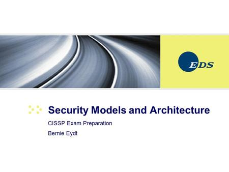 Security Models and Architecture