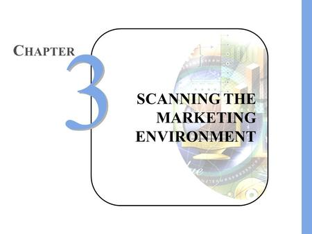 SCANNING THE MARKETING ENVIRONMENT