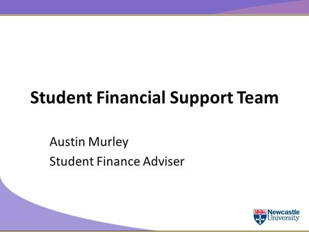 Student Financial Support Team