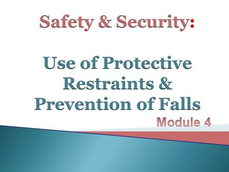  Promoting safety and preventing injury for the patient is fundamental for nursing practice.  No matter what type of patient you care for, safety is.