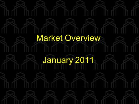 Market Overview January 2011. Total Single Family Sales for Jan-Nov 2007 vs. 2008 vs. 2009 vs. 2010 Douglas and Sarpy Counties 6097 7425 6524 7416.