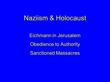 what is goldhagens thesis of the holocaust