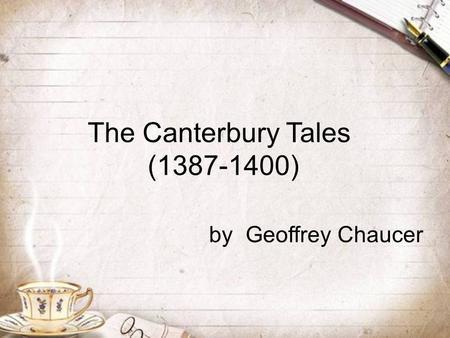 Critical essays on geoffrey chaucer