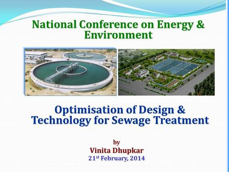 National Conference on Energy & Environment