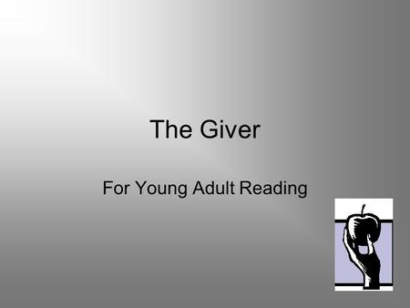 For Young Adult Reading