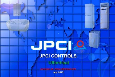 JPCI CONTROLS Ultimheat