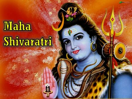 "What is it? When is it? Feb 20 th  Shiva + ratri = ""night of Shiva""  Annual festival for praying to Lord Shiva  All-night vigil, strict fasting  Shivalinga."