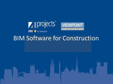 BIM Software for Construction.  - Twitter Web  &www.viewpoint.comwww.viewpoint.com.