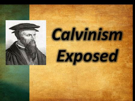 John Calvin (1509-1564) was a sixteenth century Swiss theologian who became a leader in the Protestant Reformation. John Calvin (1509-1564) was a sixteenth.