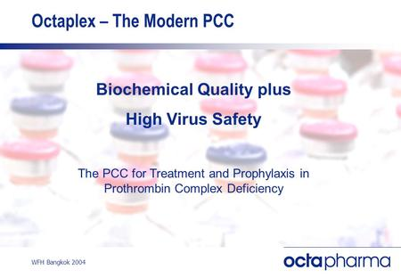 Octaplex – The Modern PCC