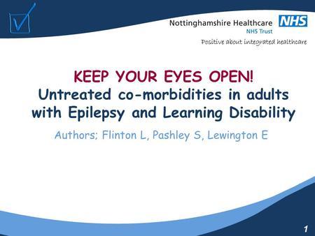Adult disability epilepsy learning