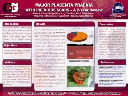 Placenta accreta: pathogenesis of a 20th century iatrogenic uterine disease.Jauniaux E, Jurkovic D. 2012 Apr;33(4):244-51. Epub 2012 Jan 28.Jauniaux EJurkovic.