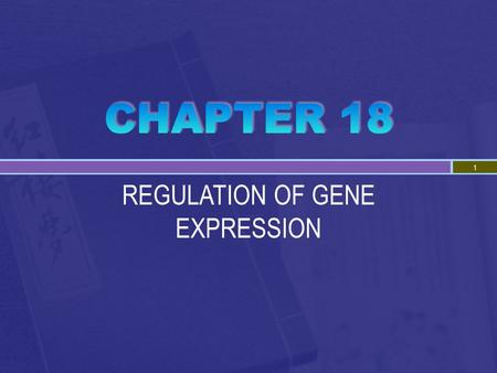 REGULATION OF GENE EXPRESSION 1.  Prokaryotes and eukaryotes alter gene expression in response to their changing environment  In multicellular eukaryotes,
