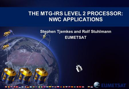The MTG-IRS level 2 processor: NWC Applications