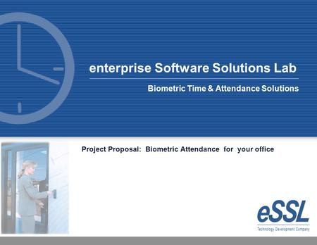 Biometric Time & Attendance Solutions
