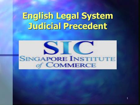 judicial precedent in the english legal The world law dictionary project english may be the common  it will be of persuasive precedent in the event that a similar  expand your legal english.