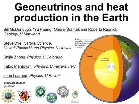 Geoneutrinos and heat production in the Earth
