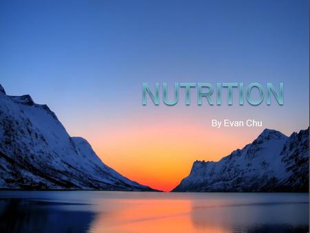 By Evan Chu. Table of contents  Carbohydrates…………………..slide 1  Fats ………………………………slide 2  Protein …………………………...slide 3  Fibre ……………………………...slide 4.