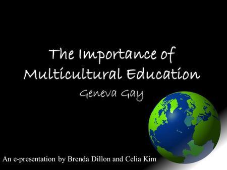Geneva gay multicultural education