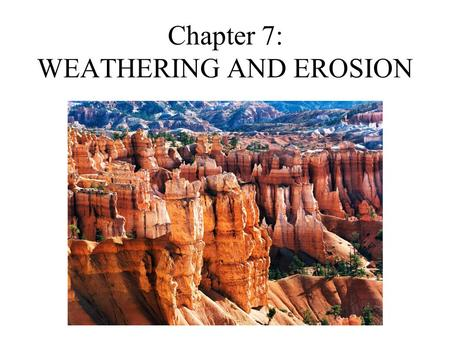 chapter 15 test glaciers and erosion Presentation on theme: chapter 15-1 glaciers pages 318-337  main valley  glaciers are larger than their tributary glaciers, and erode the valley more as well.