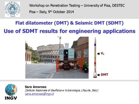 Use of SDMT results for engineering applications