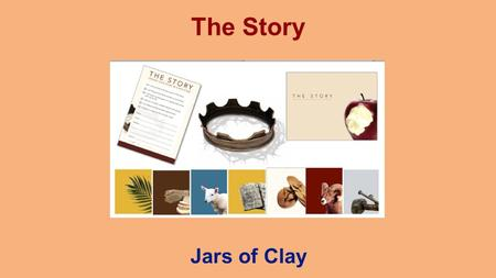 The Story Jars of Clay. 2 Why read the Bible? Because it tells us an alternative Story.