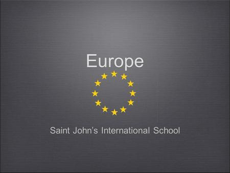 Europe Saint John's International School. Short Run:Recession Falling Output Unemployment Deflation Bigger Government Deficit A decrease in Wealth Low.