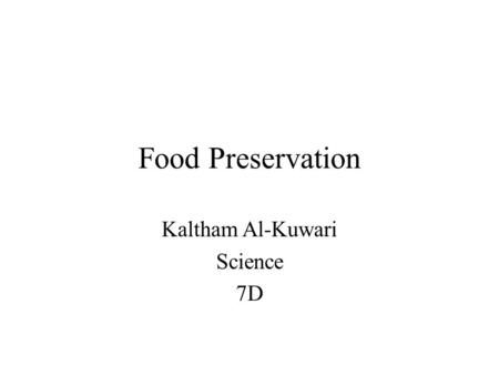 Kaltham Al-Kuwari Science 7D