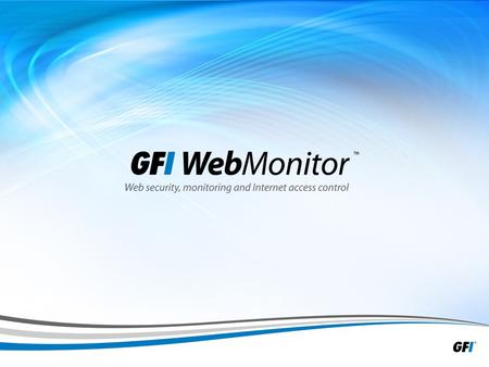 1. 2 Presentation outline » IT pain points » GFI WebMonitor™ » Testimonials » Kudos » Conclusion » About us.