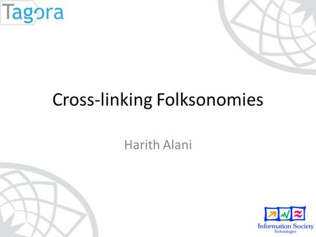 Cross-linking Folksonomies Harith Alani. Multiple SNS Accounts del.icio.us.
