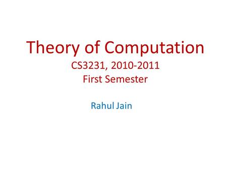 theory of computation solution manual