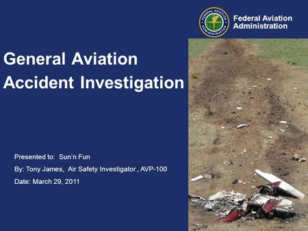 General Aviation Accident Investigation