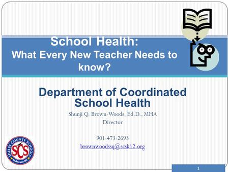 School Health: What Every New Teacher Needs to know?