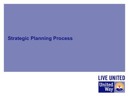 Strategic Planning Process. UWRC Strategic Plan Components Donor Survey Community Conversations 2014 Community Indicators Report SWOT Analysis (Board/Staff)