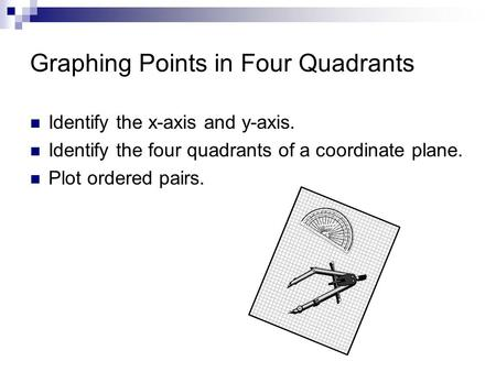 Graphing Points in Four Quadrants