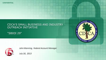CDCA's Small Business and Industry Outreach Initiative SBIOI 29