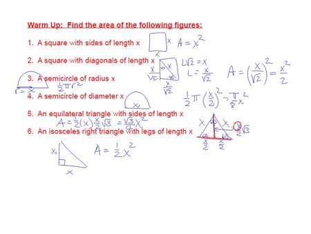 Find the volume of a pyramid whose base is a square with sides of length L and whose height is h.