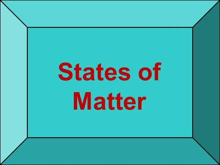 States of Matter. What is matter ? 5/24/2015 2 Matter- anything that has mass and volume 5/24/2015 3.