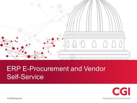 ERP E-Procurement and Vendor