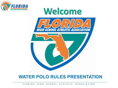 Welcome WATER POLO RULES PRESENTATION. INTRODUCTION  Dale Klaus, Director of Athletics  or ext. 390 Responsibilities include:  Fall—Administrator.