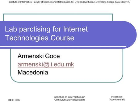 """information management in macedonia Macedonia: geographical and historical treatment of macedonia, including maps   the framework provided by yugoslavia's system of """"socialist self-management   university for information science and technology st paul the apostle"""" in."""
