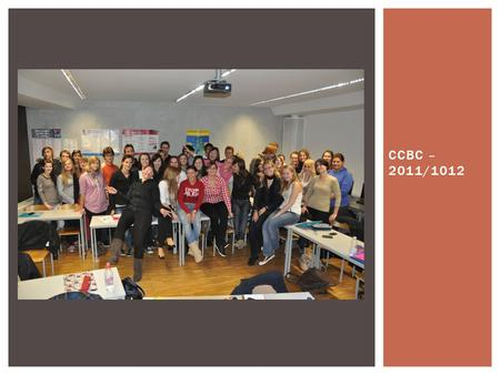 CCBC – 2011/1012.  My name is Mira Djekić and I'm 19 years old. I live in Koper (quite a big town by the sea in Slovenia). I love learning new languages.