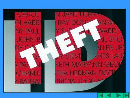 "Identity Theft ""When Bad Things Happen To Your Good Name"" Federal Trade Commission."