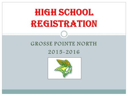 High School Registration