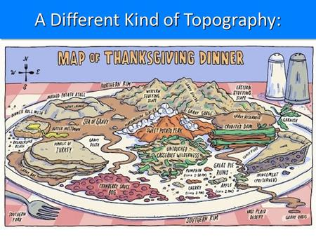 A Different Kind of Topography: