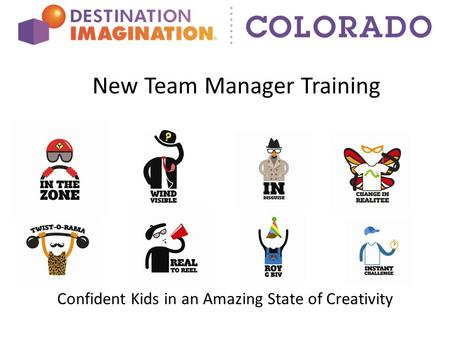 New Team Manager Training Confident Kids in an Amazing State of Creativity.