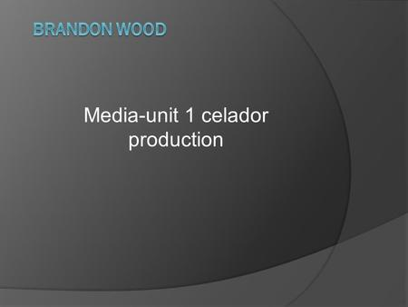 Media-unit 1 celador production. Ownership  What is the history of celador films? Celador was taken over by Complete Communications which brought out.