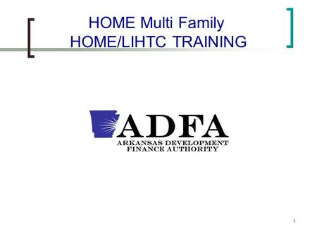 1 HOME Multi Family HOME/LIHTC TRAINING. 2 HOME Monitoring Operations Manual The 2010 HOME Monitoring Operations Manual was completed by ICF International.