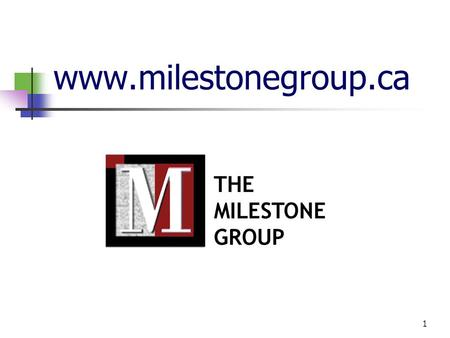 1 www.milestonegroup.ca. 2 Our Web Site How does the Web Site enhance our Service? Provides a more efficient and responsive means of requesting and tracking.