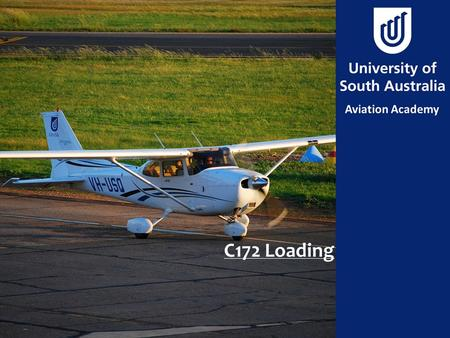 C172 Loading. Aim To calculate the weight and balance for a Cessna 172SP to ensure it is operating within limits.